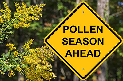 Got Pollen?  It's Time to Clean Those Condenser Coils
