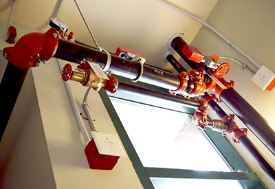 Fire Protection Sprinkler Piping