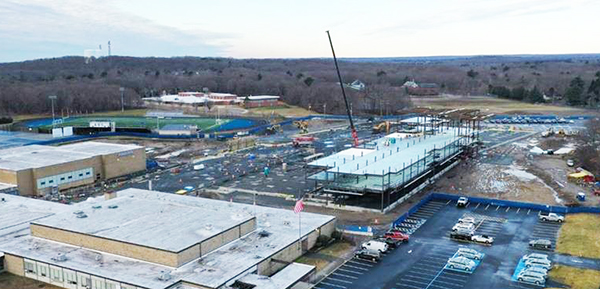 Arden Awarded Mechanical Contract for New Attleboro High School