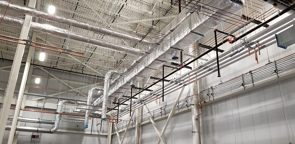 Rubius piping and ductwork