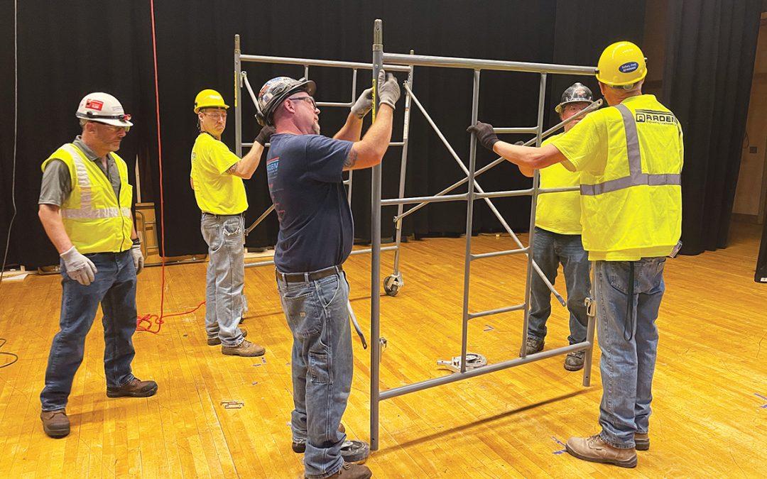 Safety Training at Bishop Feenan High School