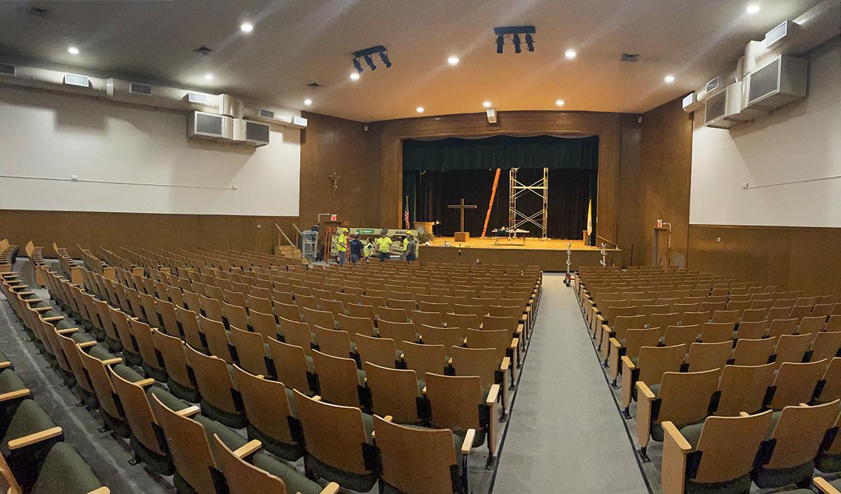 Bishop Feehan School Auditorium