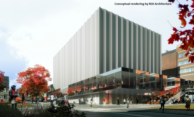Brown's New Performing Art Center